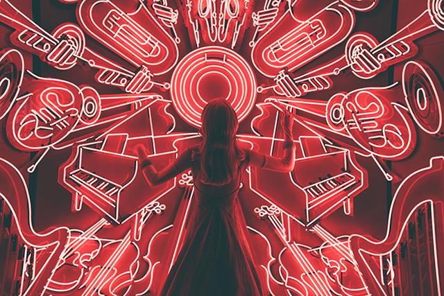 夢占い赤色