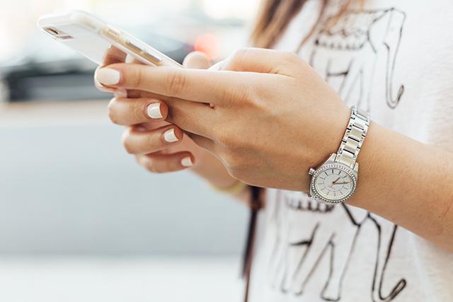 夫の携帯チェック