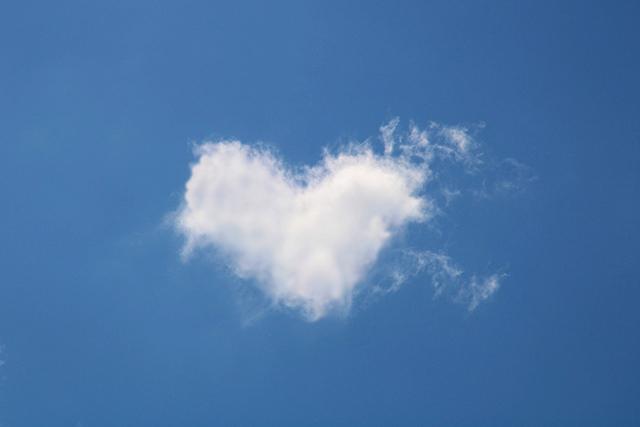 ハート型の雲で好きな人を振り向かせるおなじない