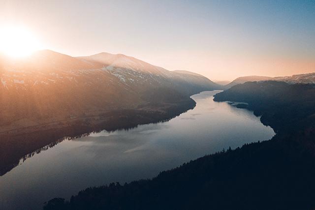 川の夢は人生のそのものを示す夢