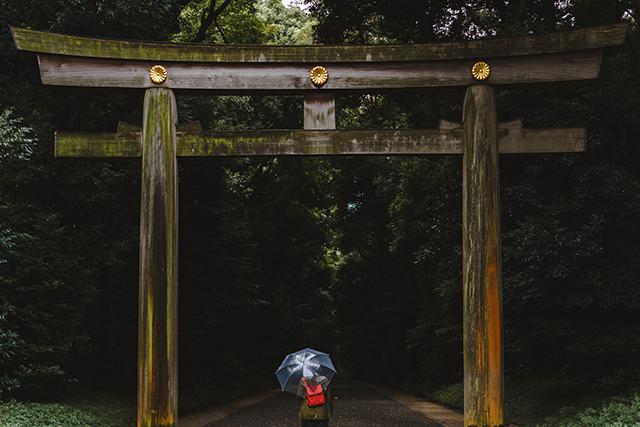 雨が降る中で神社を参拝する夢の意味メッセージ暗示