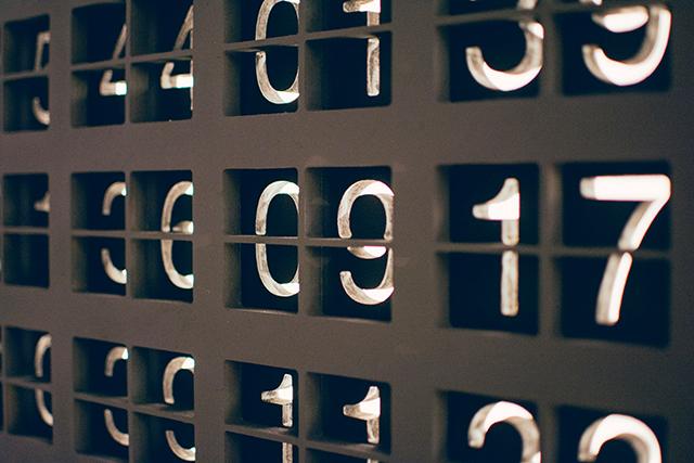 数字が出てくる夢の意味メッセージ