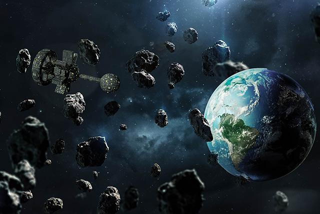 宇宙で隕石にぶつかりそうになる夢の意味