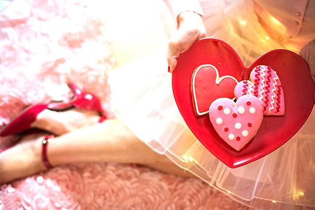 バレンタインデーに本命チョコ渡すのが初めてだと告白する
