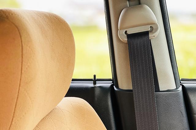 潔癖度をチェックして車内を汚さないように注意する