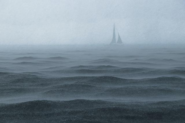 雨が降っている海の夢の意味メッセージ