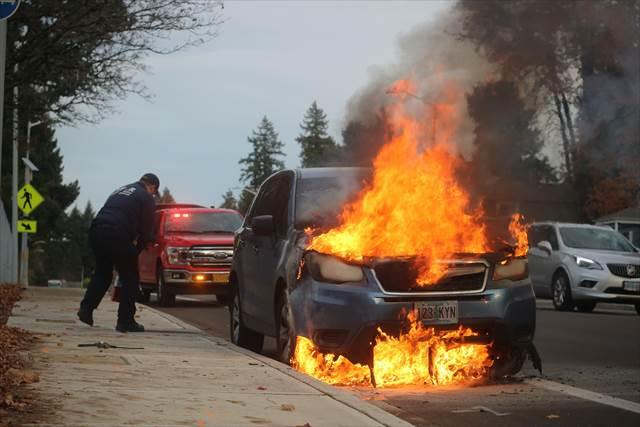 車が燃える夢の意味