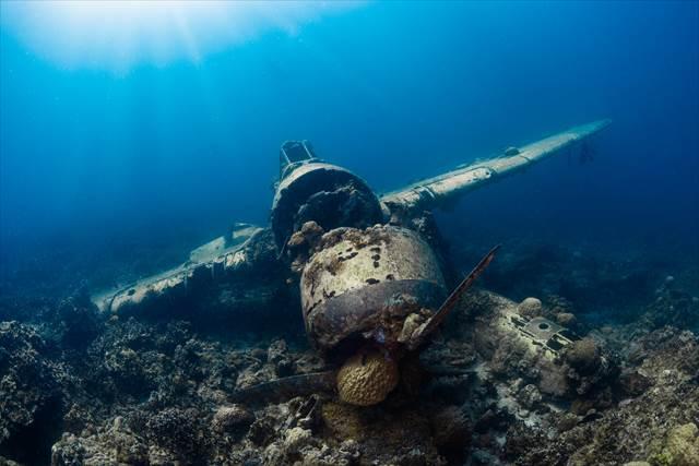静かな深い海底に落ちた夢の意味