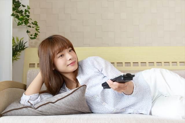 一人で静かにテレビでアニメを見る夢の意味